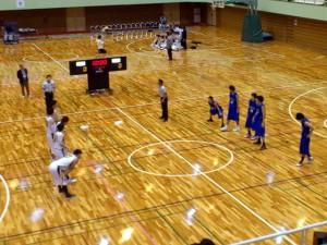 決勝は後半運動量で新潟教員を圧倒した富山大学が勝利