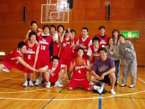 チーム結成時のリバーシブル 撮影 : 2005.4.2