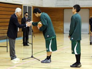 3位入賞により、ボールゲット! #10星野、#11稲垣