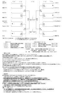 平成26度 長野県一般男子女子大会 組み合わせ その2