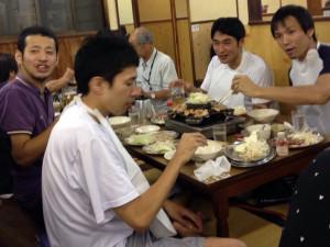 焼肉@東山食堂